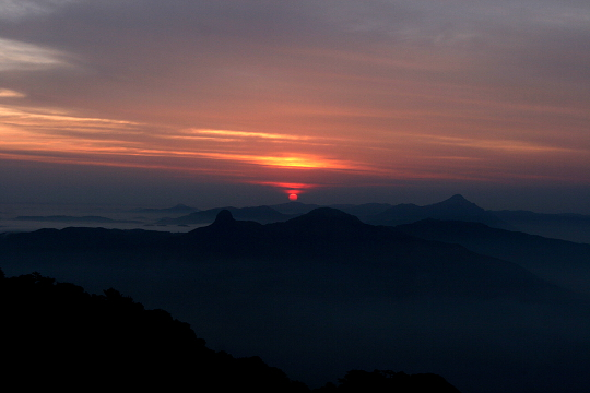 Sunrise at Amedikallu